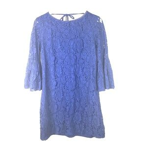 NWOT Laundry by Shelli Segal Navy Lace Dress, 10